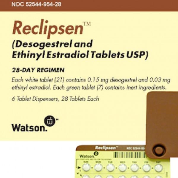 Reclipsen birth control pills