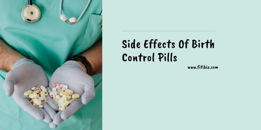 Side Effects Of Birth Control Pills